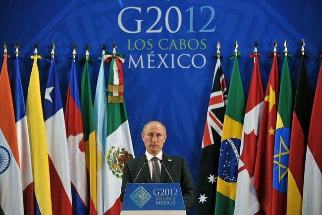 Россию временно могут исключить из Большой двадцатки