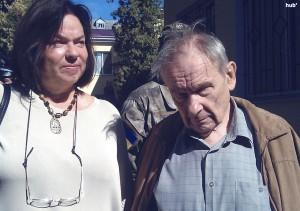 Юрий Шухевич с супругой Лесей