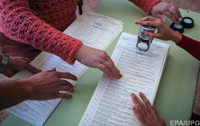 В Москве голосуют с ОМОНом и приверженцами  террористов