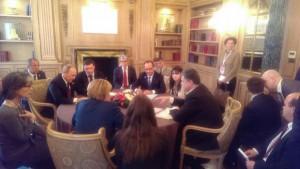 Началась вторая встреча в Милане Порошенко и Путина