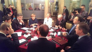 Порошенко и Путин проводят переговоры в Милане