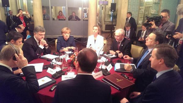 Встреча Порошенко и Путина в Милане завершилась