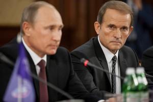 Путин и Медведчук. Фото: gazeta.ru