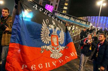 Митингующие против ДНР перекрыли дорогу в Макеевке