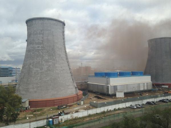 В Москве произошел взрыв на территории ТЭЦ-16