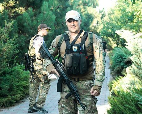 Начальником ГУ МВД Киевской области стал замкомандира полка «Азов» Вадим Троян