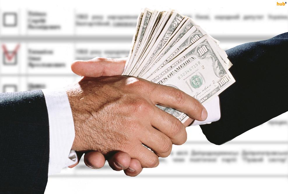 Сколько в будущей Раде потенциальных коррупционеров
