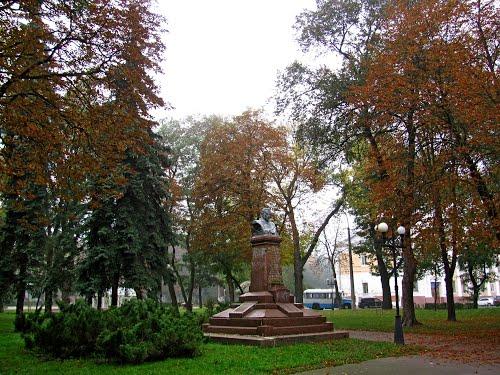 В Чернигове повалили памятник Фрунзе. Видео