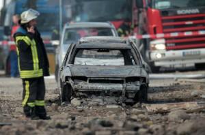С начала года в Украине произошло почти 800 пожаров транспортных средств, – ГСЧС