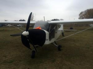 Волонтер подарил бойцам АТО самолет. Фото
