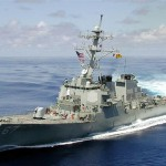 В Черное море зашел эсминец ВВС США