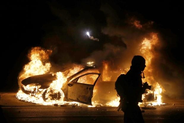 Беспорядки в США: 13 человек ранены