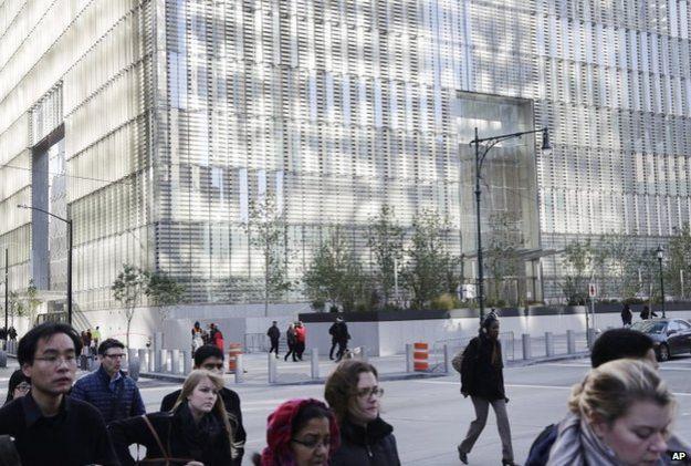 В Нью-Йорке открыли новую башню торгового центра