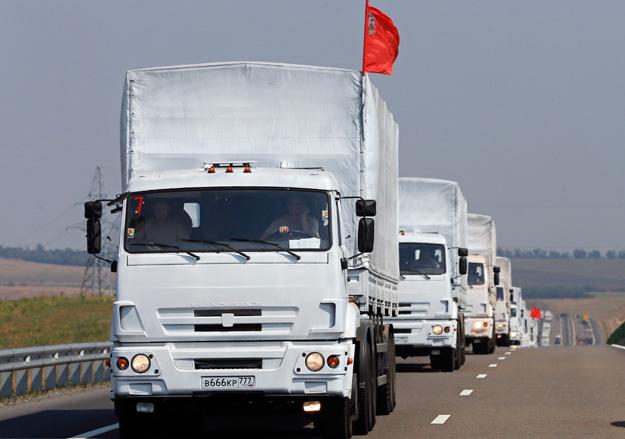 В РФ готовят восьмой конвой с гуманитарной помощью: грузят бензин и дизельное топливо
