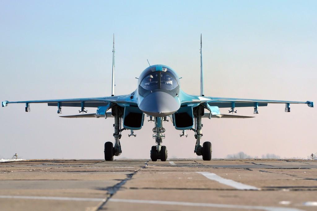Норвежские военные заметили у своих границ российский истребитель Су-34