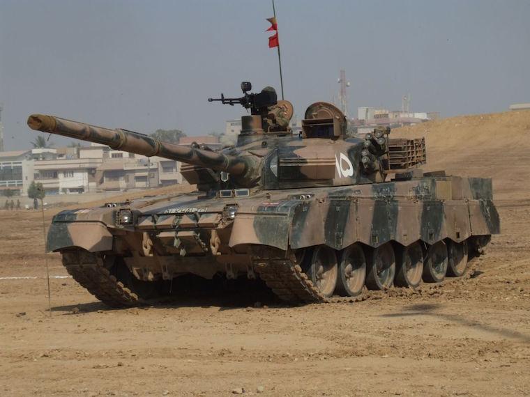Танк Al-Khalid
