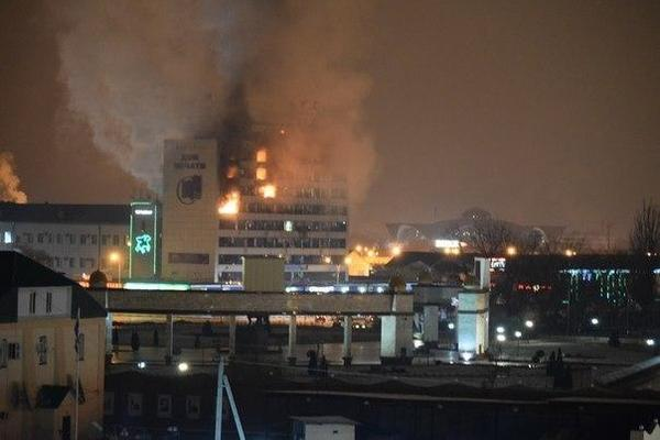 В центре Грозного – взрыв: есть жертвы. Обновляется