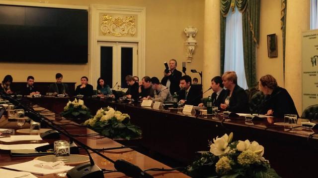 Пресс-конференция Валерии Гонтаревой