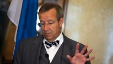 Тоомас Хендрик Ильвес, президент Эстонии