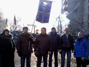 Артур Цицюрский (третий слева)
