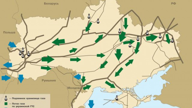 Газпром готов отделить газ Донбасса