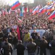 «Выборы народного мэра» в Севастополе. 23 февраля 2014 года