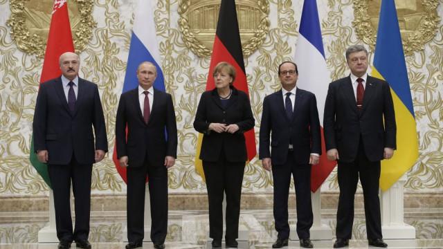 Встреча в «нормандском формате» в Минске