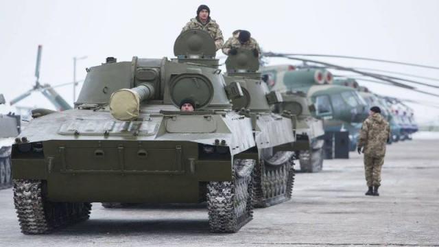 Передача ВСУ машин САУ 2С1 «Гвоздика»