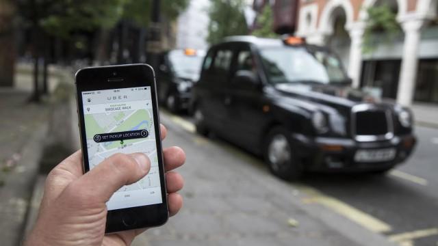сервис вызова такси Uber