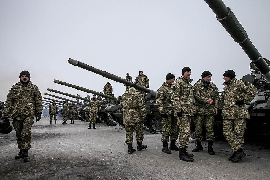 В декабре армия получила танки Т-64 и Т-72