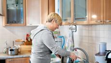 Валерия Гонтарева на кухне