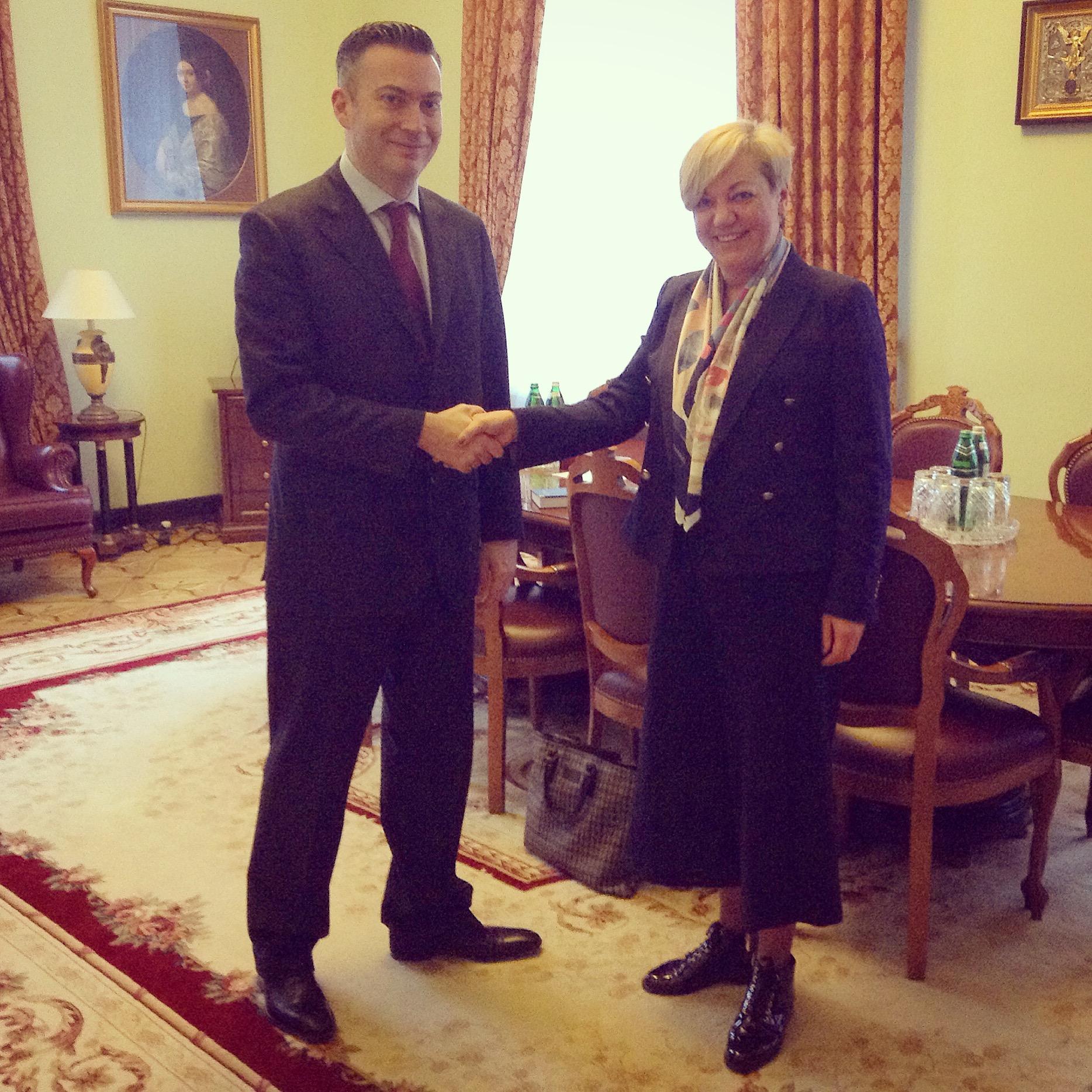 Представителю МВФ в Украине Жерому Ваше в Нацбанке всегда рады
