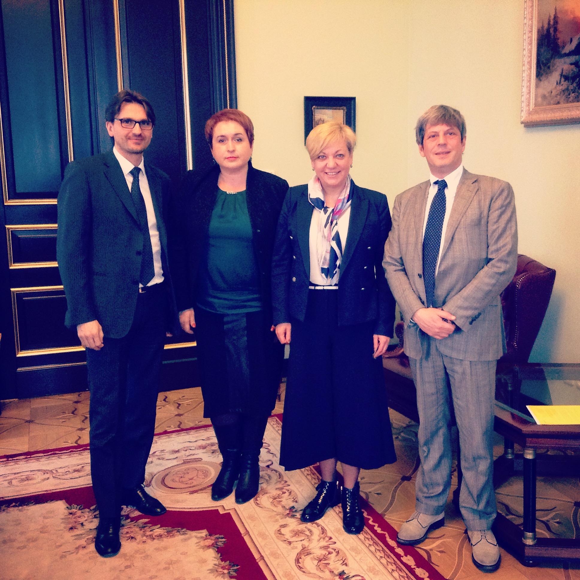 """Встреча с менеджментом UniCredit Bank прошла успешно. Итальянцы докапитализировали свою украинскую """"дочку"""""""