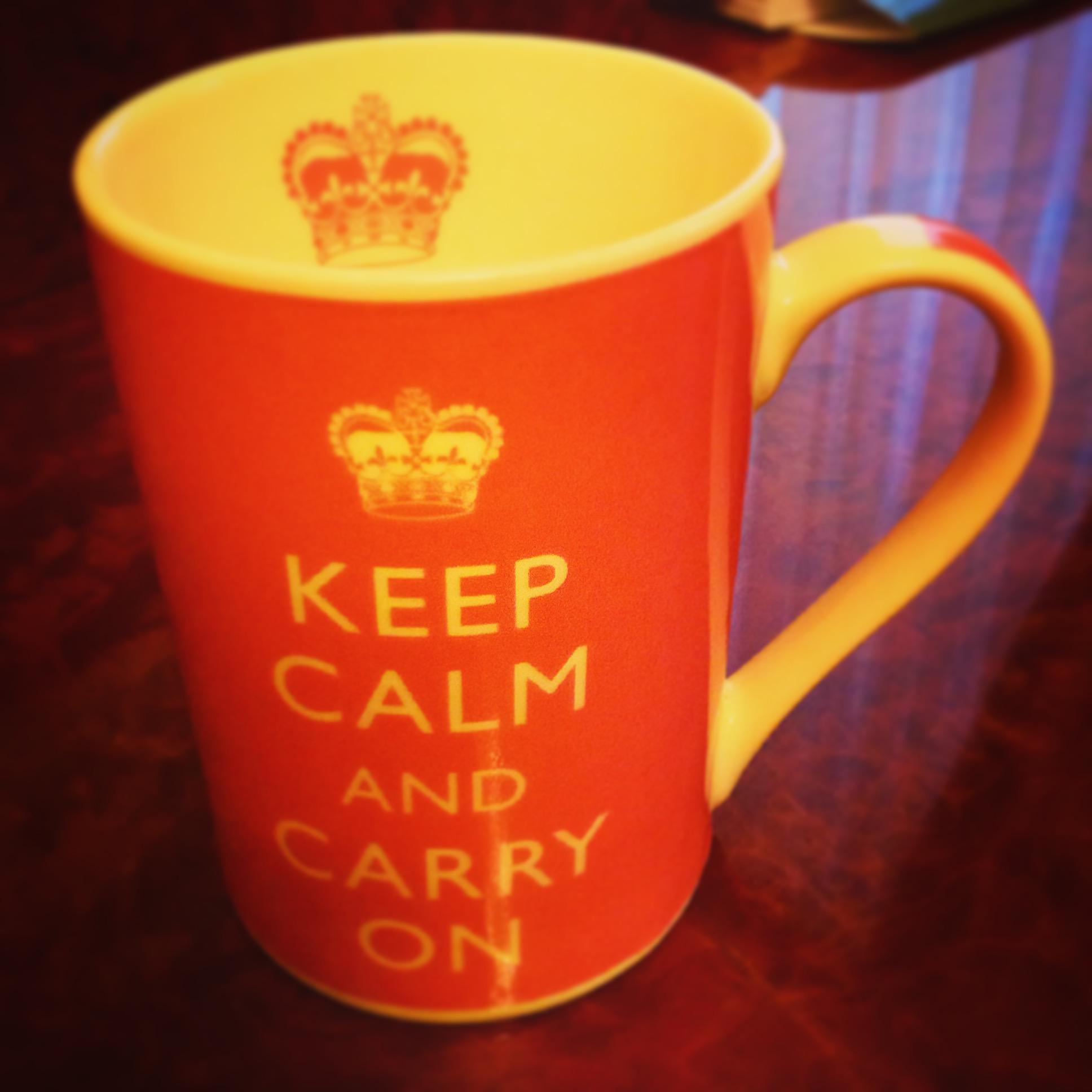 Чашка, которую Гонтаревой подарил муж, стоит у нее на столе