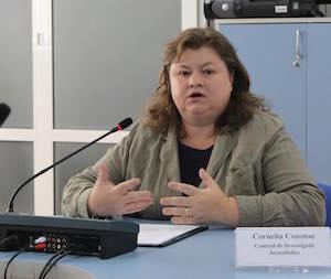 Корнелия Козонак, директор Центра журналистских расследований