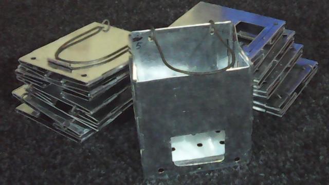 Разработка неизвестного краматорского мастера: мини-печка