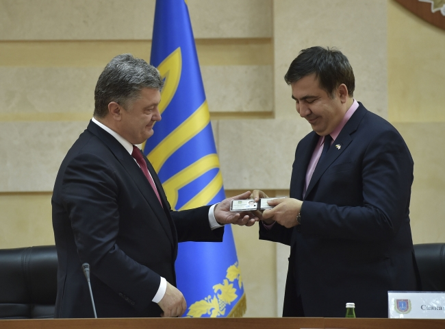 Петр Порошенко назначил Михаила Саакашвили губернатором Одесской области