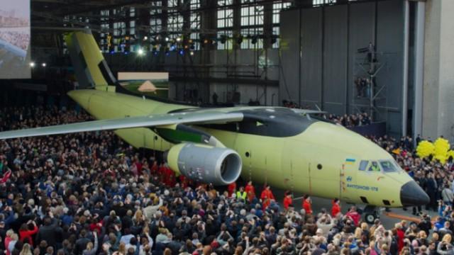 Военно-транспортный самолет Ан-178