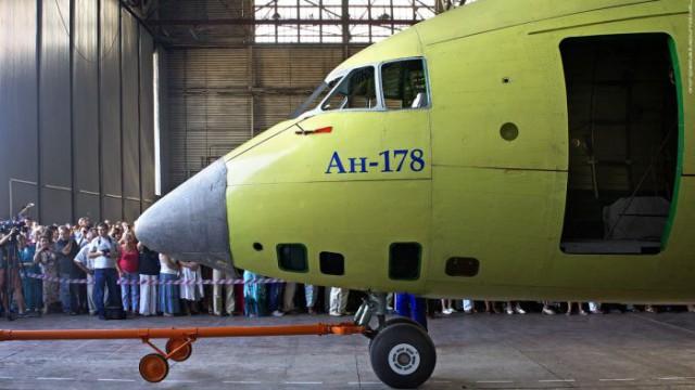 Ан-178 поднялся в воздух