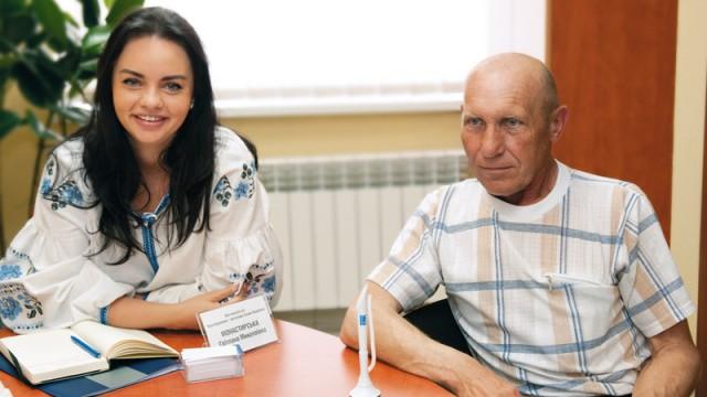 Светлана Монастырская с клиентом