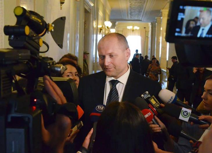 Борислав Береза обещает журналистам славный скандал