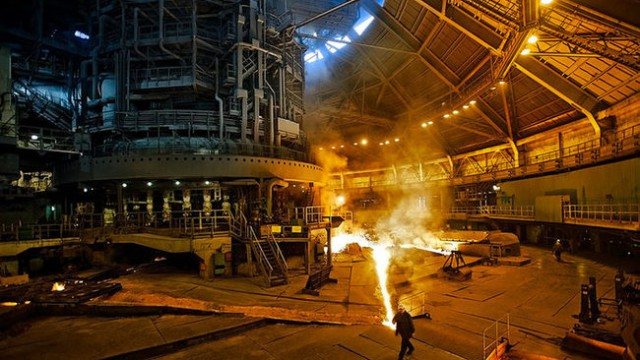 Украина удержалась в топ-10 производителей стали