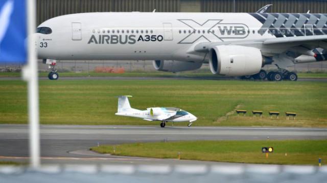 Airbus на выставке в Ле-Бурже