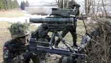 Немецкие военные на учениях в Польше