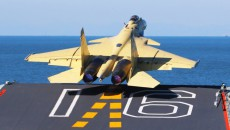 Палубный истребитель Shenyang J-15