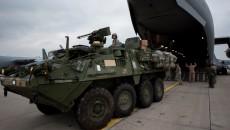 Высадка американских военных в Эстонии
