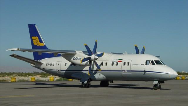 Пассажирский самолет IrAn-140