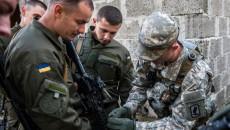 Военные США обучают Нацгвардию во Львове