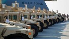 Американские Humvee прибыли в аэропорт Борисполь