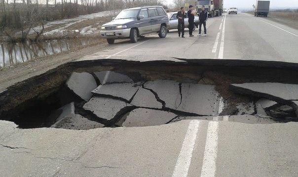 Дороги будут ремонтировать за счет местных бюджетов